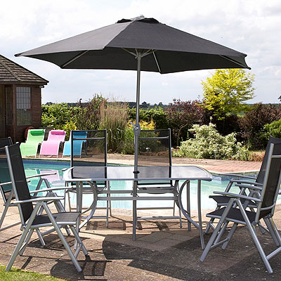 garden furniture barbecues lighting and water feature deals
