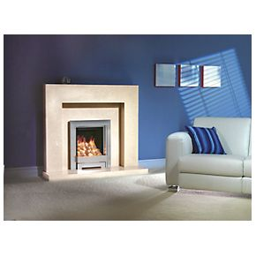 Be Modern Lauren White Marble Surround