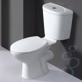 Galaxy Close Coupled Toilet