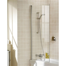 Square glass Shower Bath Screen