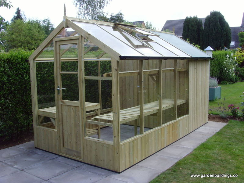 Swallow Tanalised Timber Greenhouse