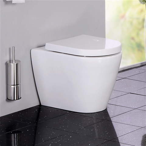 Cruise Back to Wall Toilet with Luxury Soft Close Seat